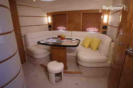 Elan Power 42 features unique interior accommodation which has been designed ...