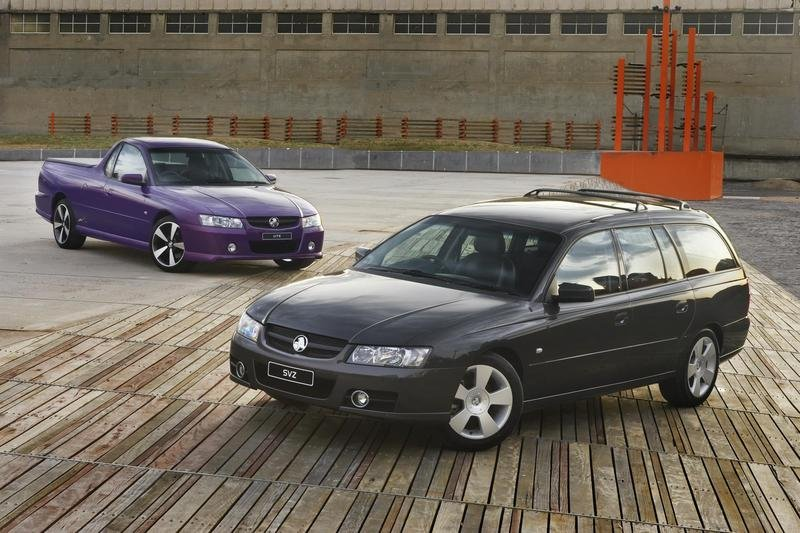 2007 Holden Commodore SVZ Ute And Wagon