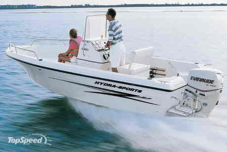 ... the Hydra-Sports 180CC measures up alongside any 19 or 20 ft. boat.