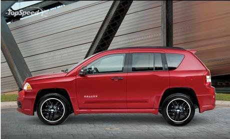 The Jeep Compass Rallye Package – available in Black, Silver, Inferno Red,