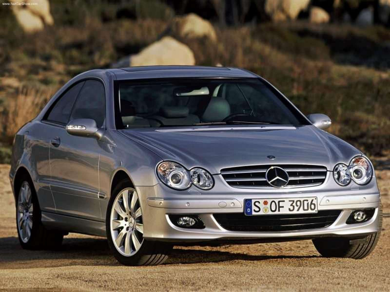 2007 Mercedes CLK Coupe Review - Top Speed