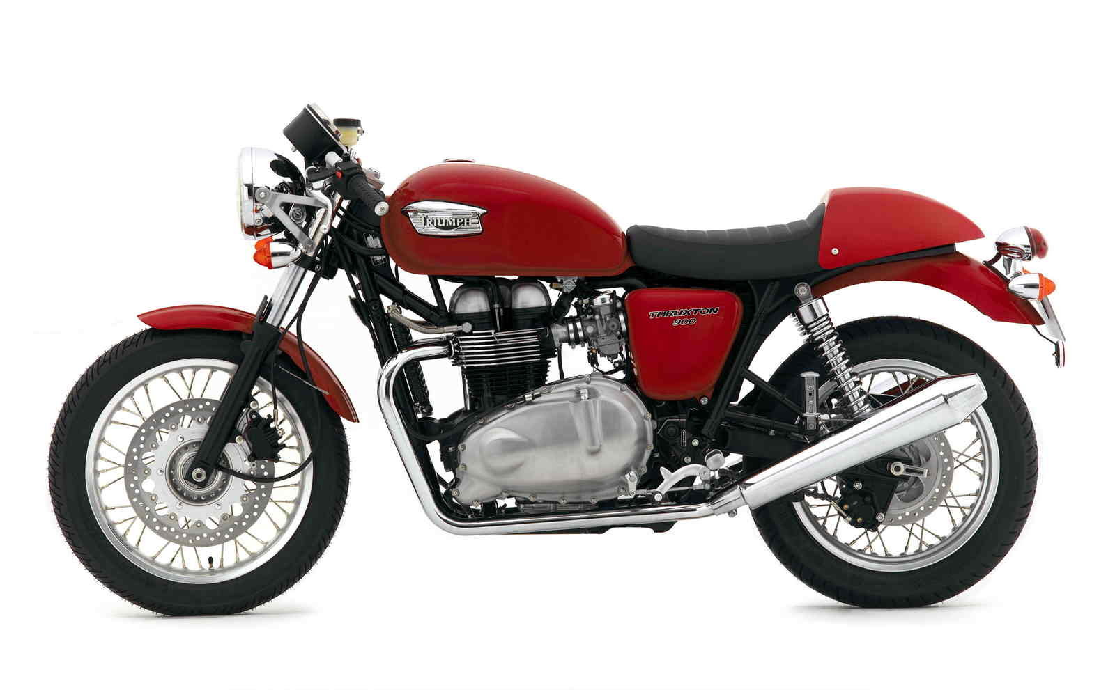 2007 triumph thruxton 900 review top speed. Black Bedroom Furniture Sets. Home Design Ideas