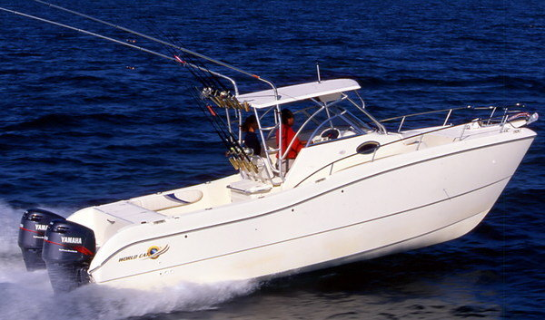 2007 World Cat 270 Sport Cabin Review Top Speed