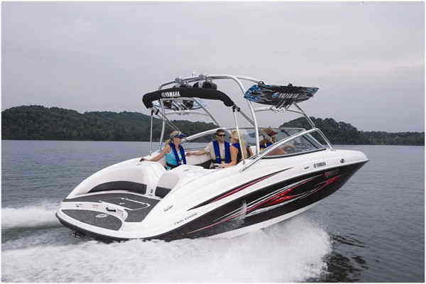 2007 yamaha ar210 boat review top speed
