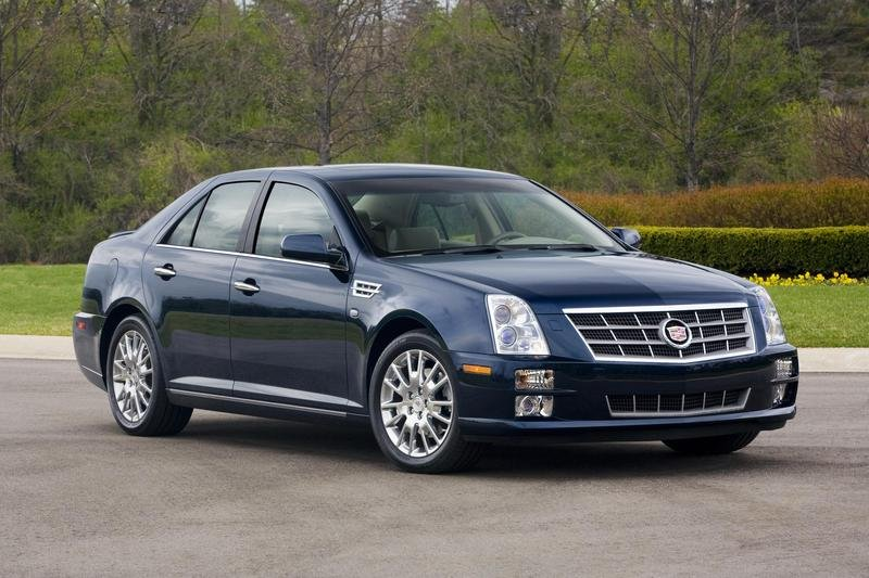 2008 Cadillac STS | Top Speed