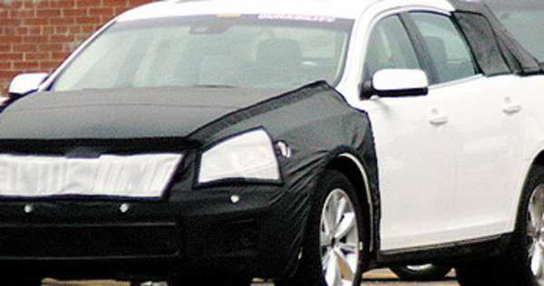 2009 lincoln mks spy shots picture