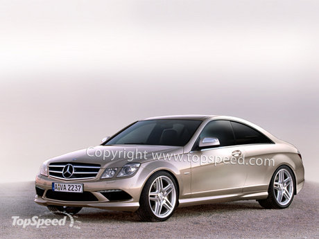 """The next generation Mercedes-Benz CLK, currently """"in works"""","""