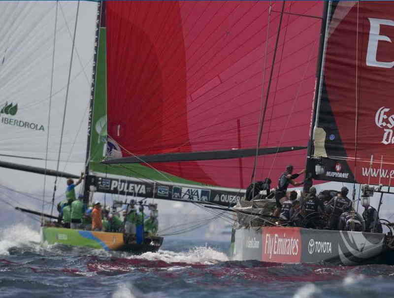 America's Cup Semi Finals - Desafío Español 2007 and Luna Rossa Challenge are today's winners