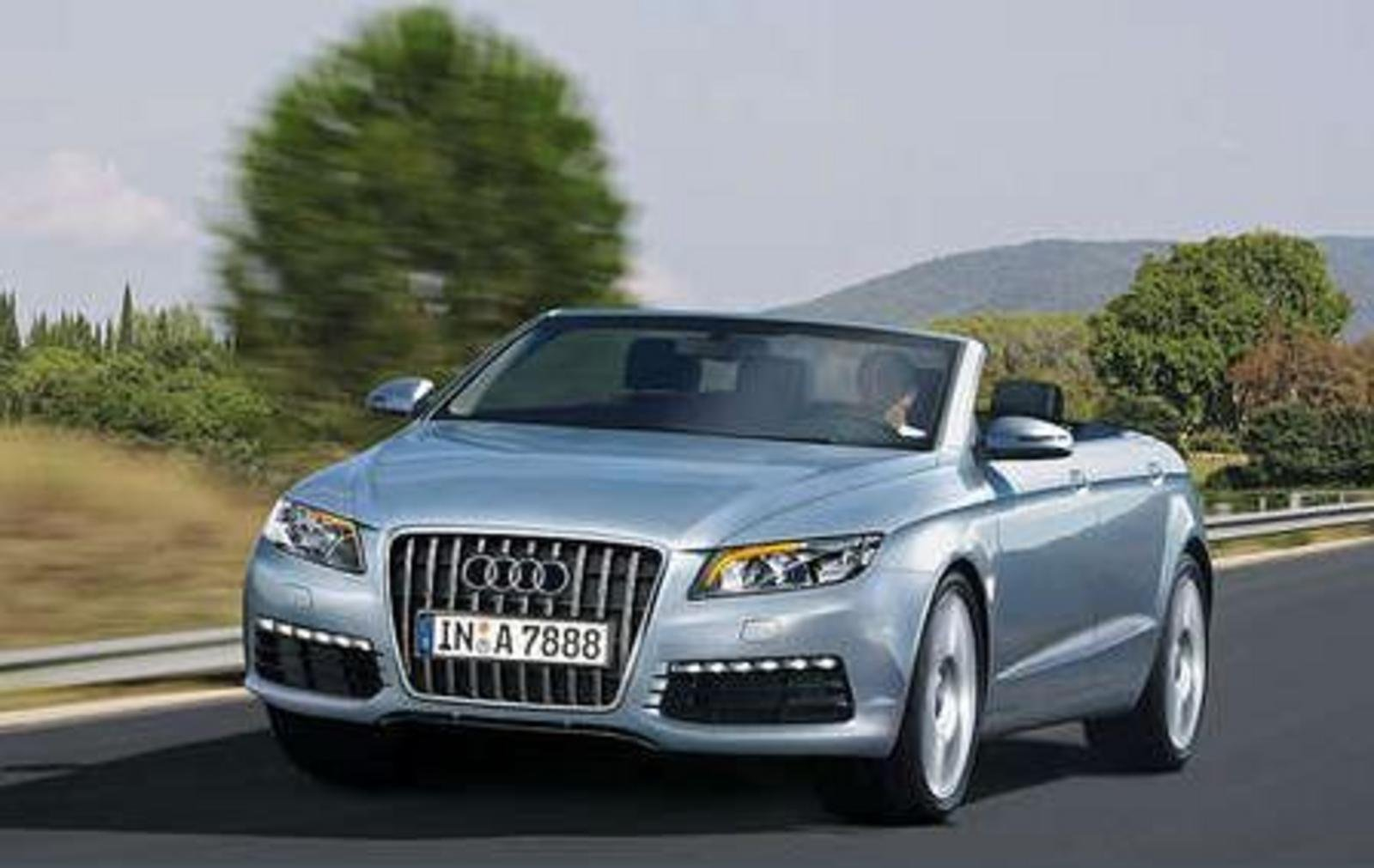 Four Door Convertible >> Audi A7 Convertible Might Be A Go For 2011 News - Top Speed