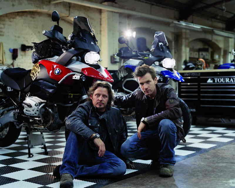 Ewan McGregor and Charley Boorman ready for Long Way Down
