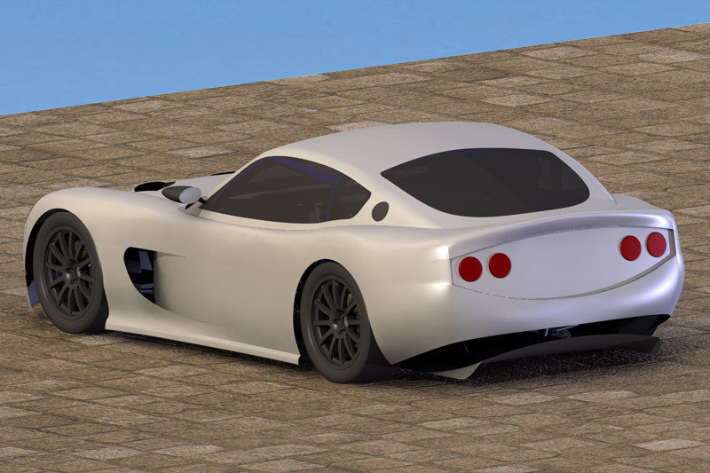 Ginetta G50 - all new British sports car for 2008