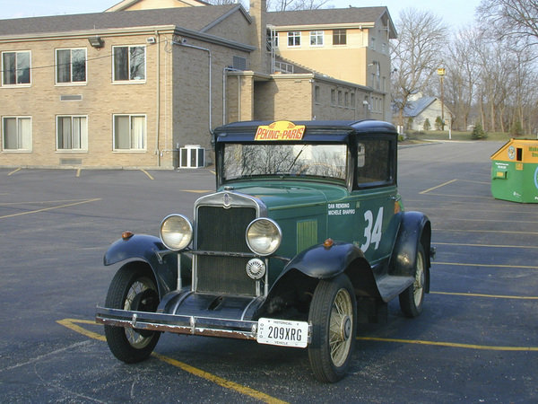 In A 1930 Chevrolet From Beijing To Paris News - Top Speed