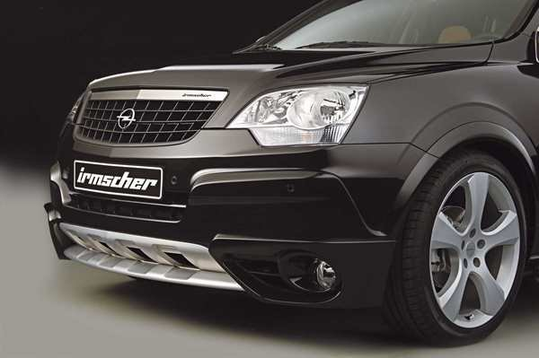 irmscher opel antara car news top speed