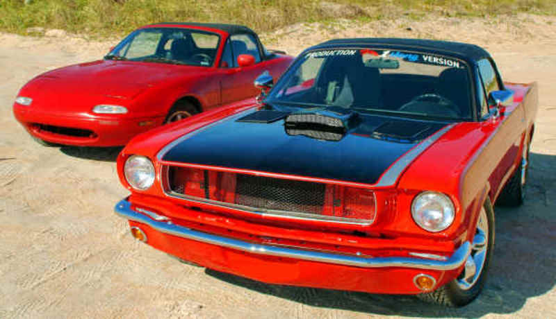 Mazda Mx 5 Based Ford Mustang Replica Pictures Photos Wallpapers