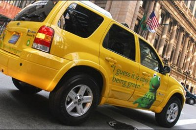 New York going green: 18 Ford Escape Hybrid Taxis to be offered