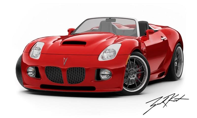 Pitbull Body Kit Conversion For The Pontiac Solstice