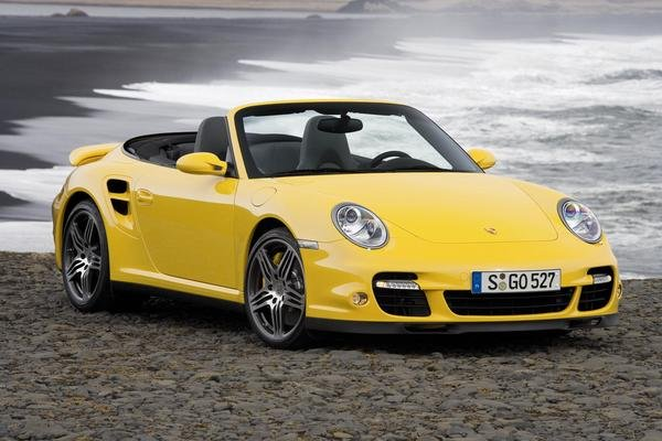 porsche 911 turbo convertible pricing announced picture