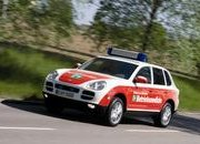 Porsche Cayenne emergency vehicle