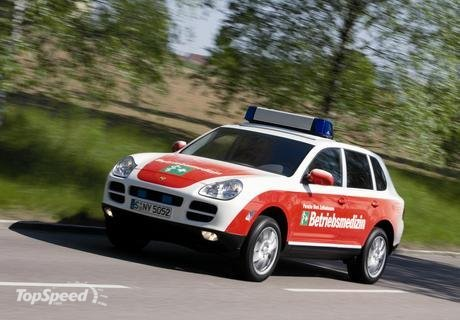 porsche cayenne emergency vehicle. One of the fastest emergency vehicles,