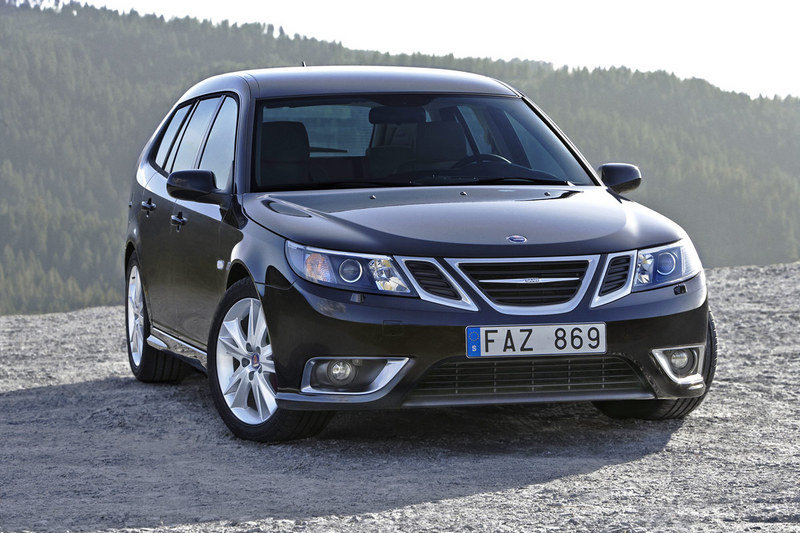 Saab 9-3 facelift-new photos