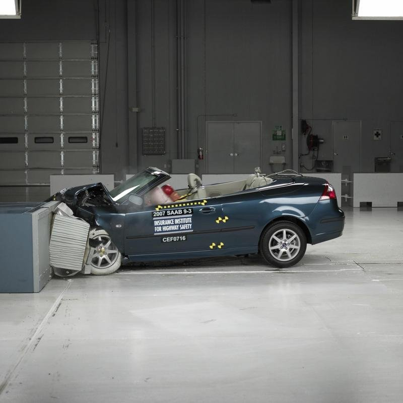 Saab & Volvo models - top ratings from IIHS
