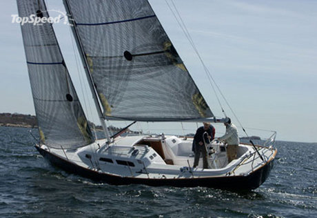 sabre yachts tested sabre spirit picture
