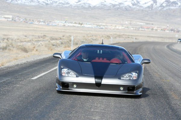 ssc ultimate aero tt hits 242 mph picture