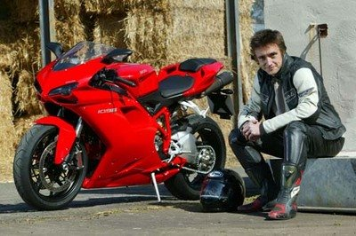 Top Gear star Richard Hammond finally gets his dream Ducati 1098