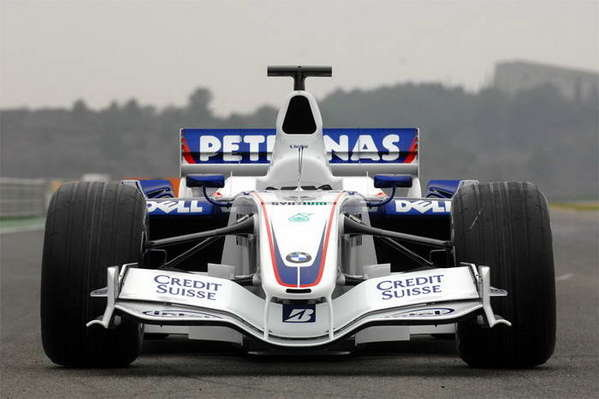bmw-sauber f1.07 review picture
