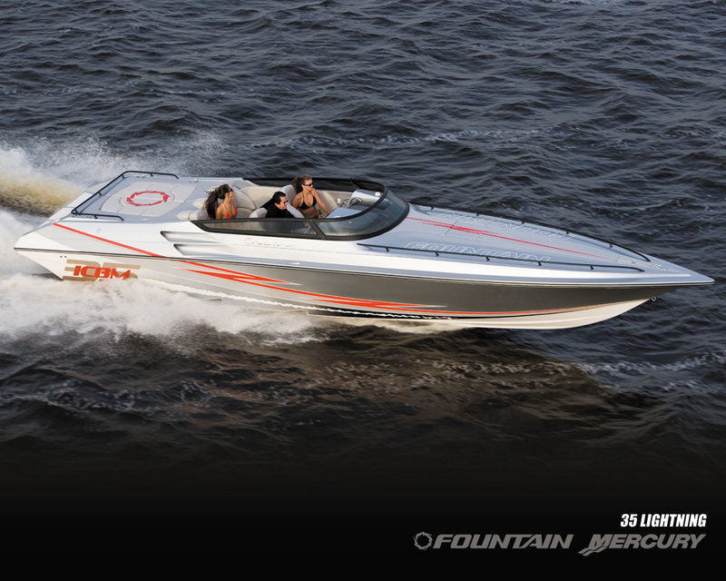 2007 Fountain Mercury 35 Lightning