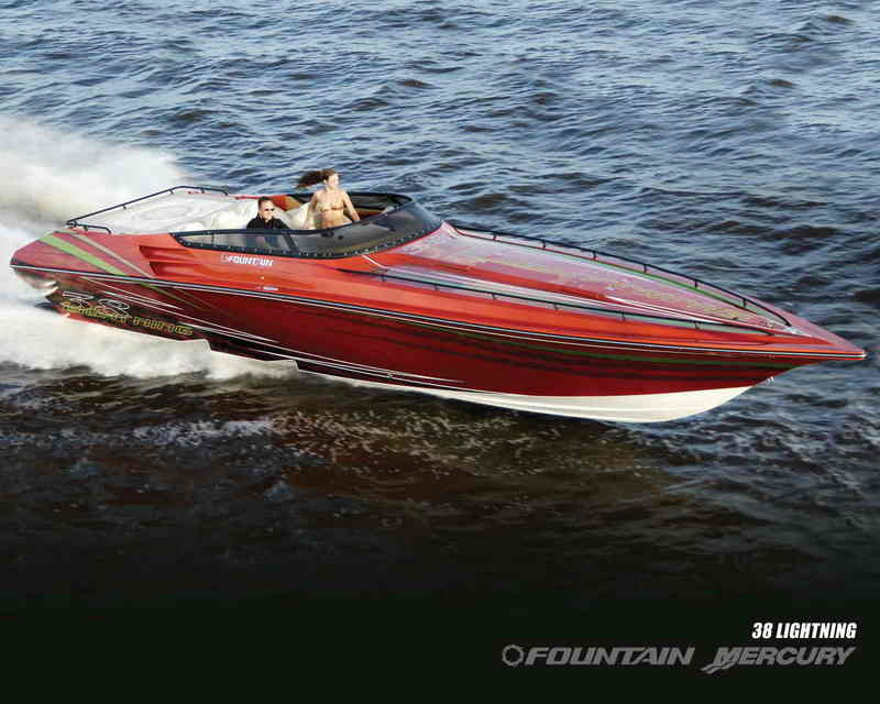 2007 Fountain Mercury 38 Lightning
