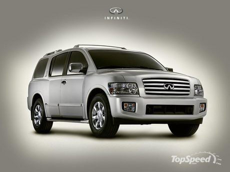 infiniti qx56 on 26 inch rims car suv from infiniti is