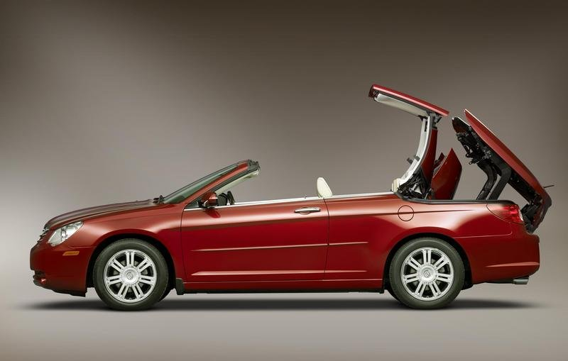 2008 Chrysler Sebring Convertible production started