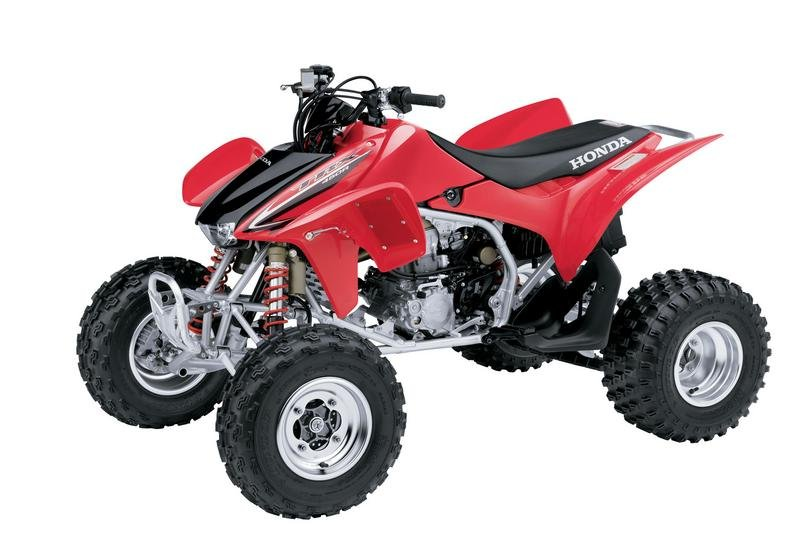 2008 honda trx450r review top speed