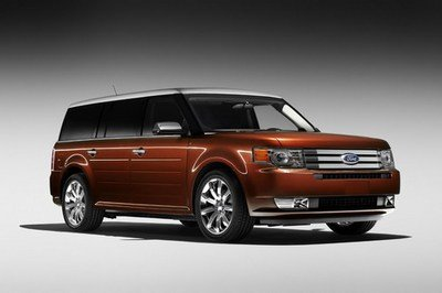 2009 Ford Flex Sneak Preview