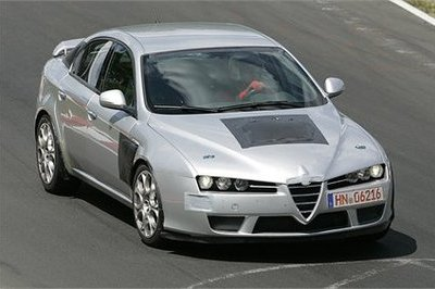 Alfa Romeo 159 GTA spy shots