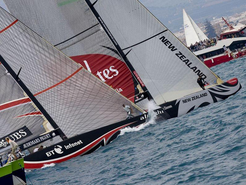 America's Cup - All square after four races