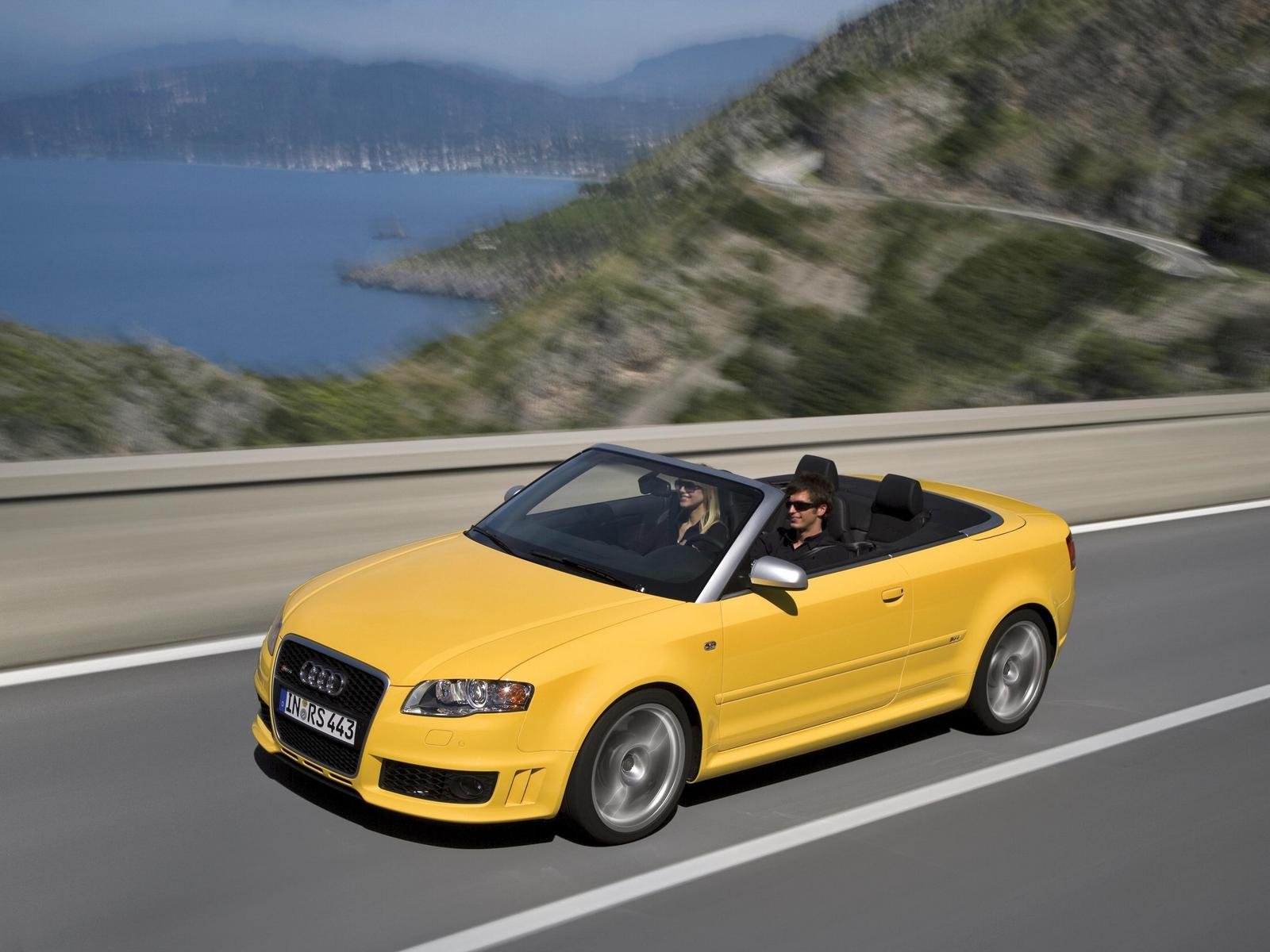 Audi RS4 Convertible Coming To USA In 2008 | Top Speed