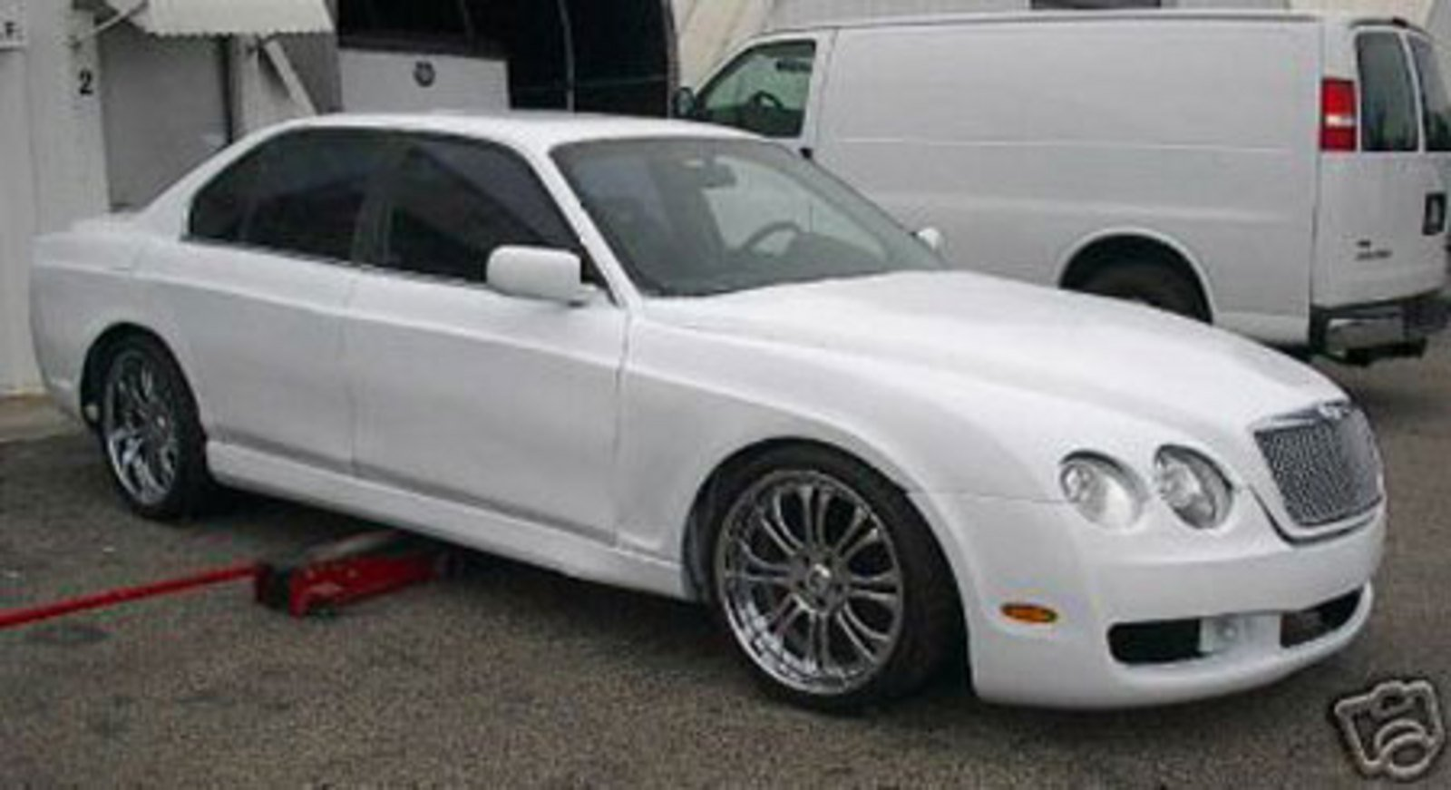 Ebay Find Of The Day 2007 Bentley Gt Flying Spur Replica