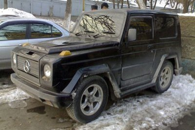 From Russia with love: Suzuki G class