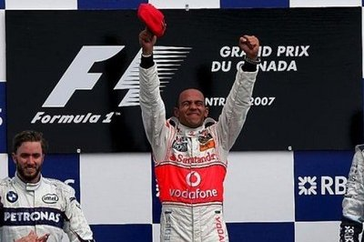 Hamilton wins the Montreal Grandprix