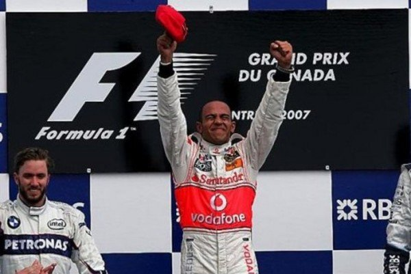 hamilton wins the montreal grandprix picture