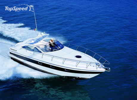 The Pershing 37 Cabin offers the maximum privacy and comfort for you to ...