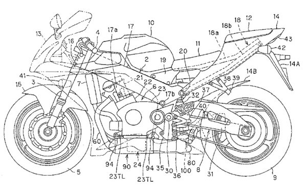 2008 honda cbr1000rr patents revealed news