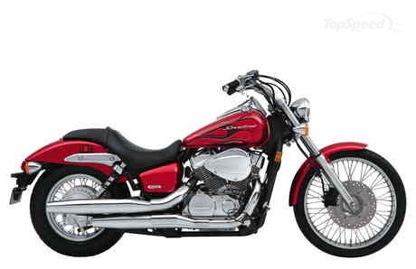 honda shadow spirit 750 c2. A classic 45-degree V-twin liquid-cooled engine