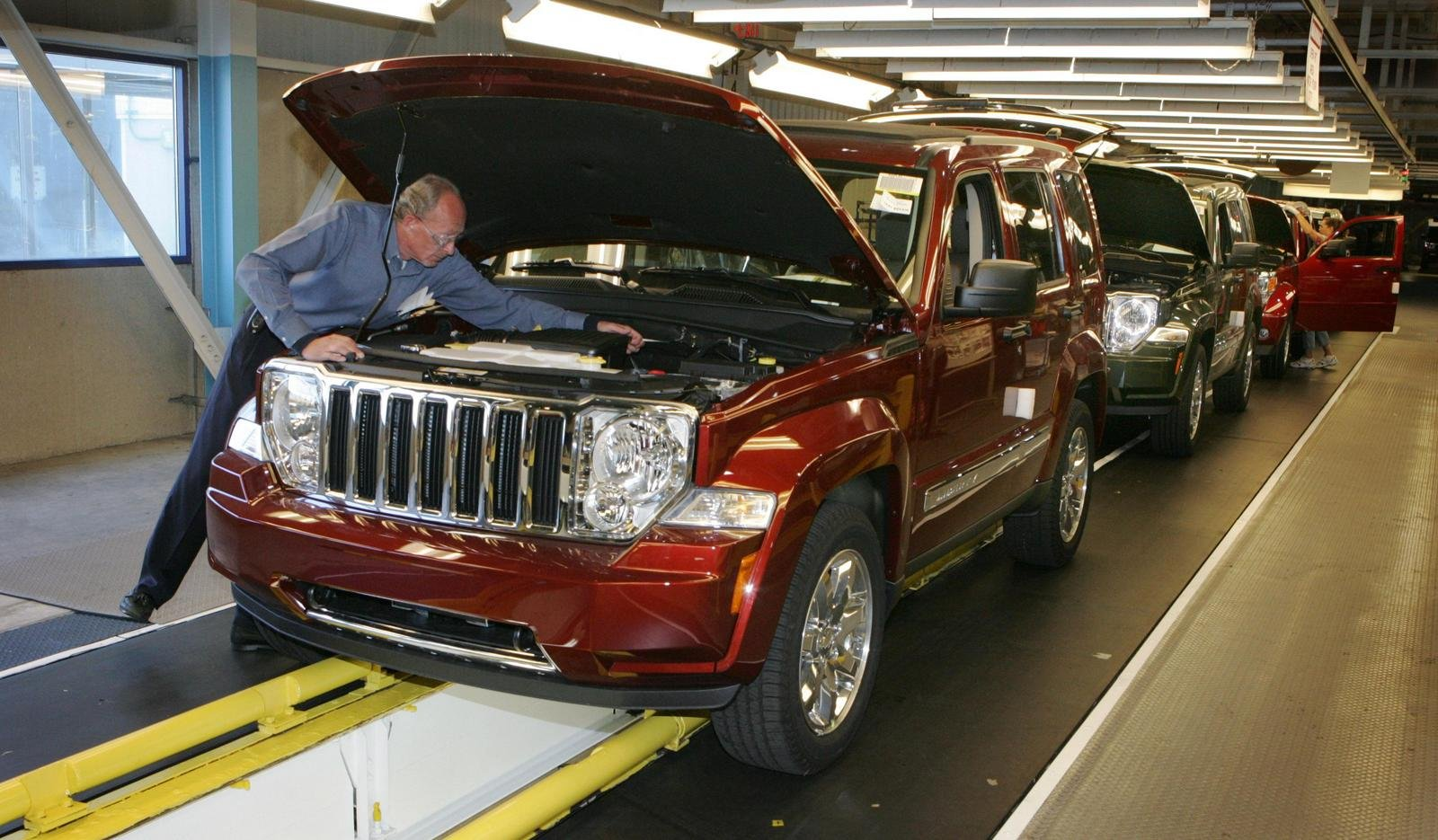 2008 Jeep Liberty Production Begins News Top Speed