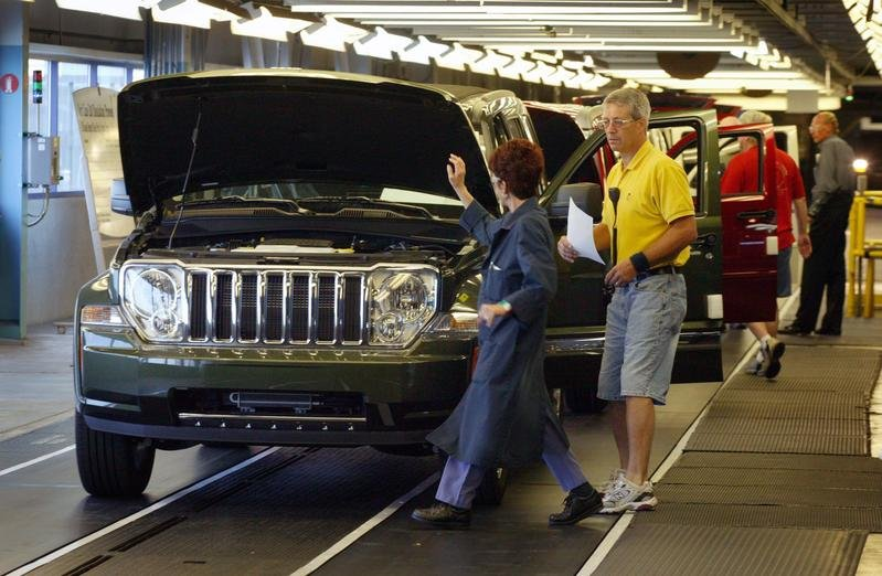 2008 Jeep Liberty production begins