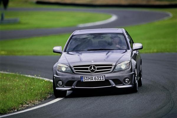 2008 Mercedes C63 AMG Review Top Speed