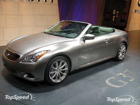 2009 Infiniti G37 Convertible Preview
