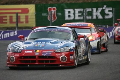4th place for Maserati MC12 at the starting grid for the 24 Hours of Spa